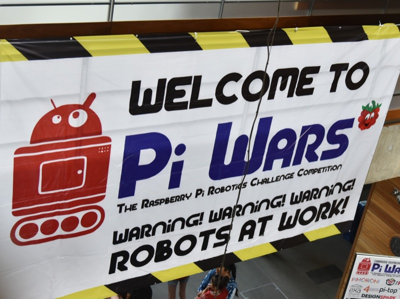 Welcome to PiWars 2018
